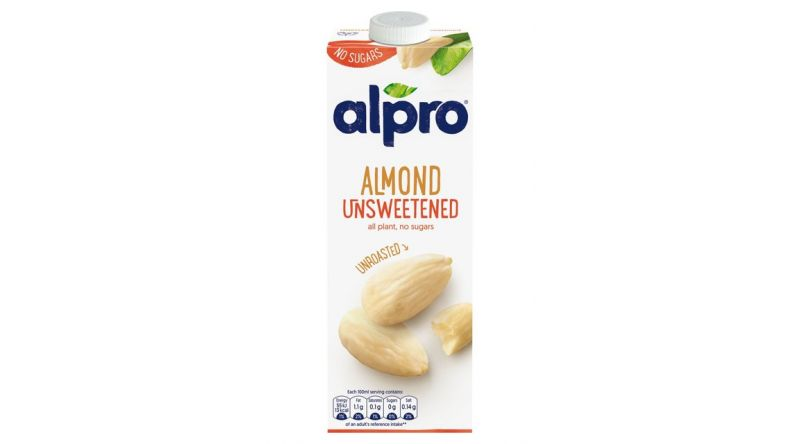 Almond Unroasted  Unsweetened Milk 1L