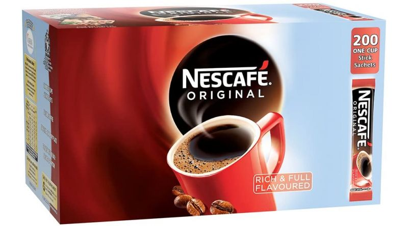 Nescafe Original Double Filter, Full Flavour 200 X Stick Sachets