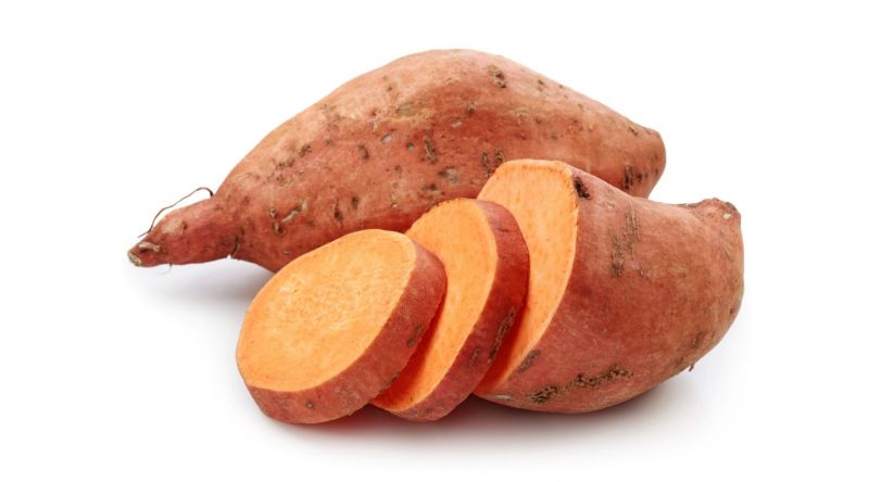 Fresh Sweet Potato Vegetables
