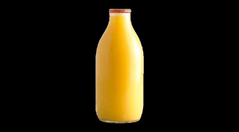 Glass Orange Juice 1 Pint