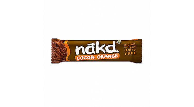 Nakd GF Bars - Cocoa Orange 4 x 35g