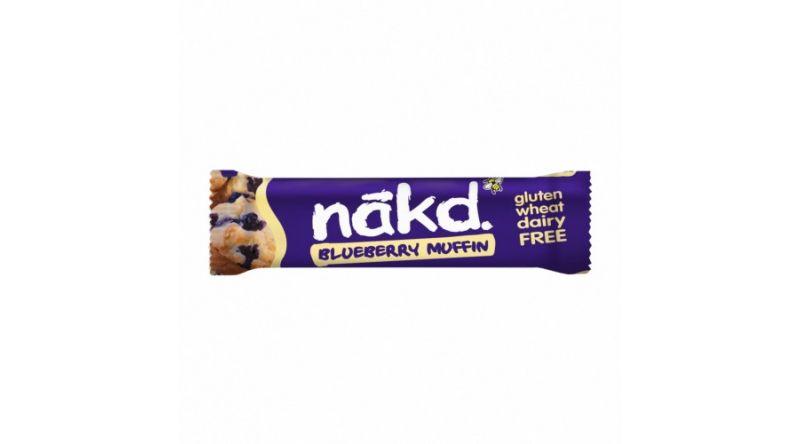 Nakd GF Bars - Blueberry Muffin 4 x 35g