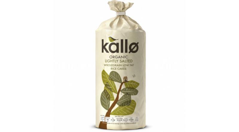 Kallo Rice Cakes GF - Organic Lightly Salted 130g