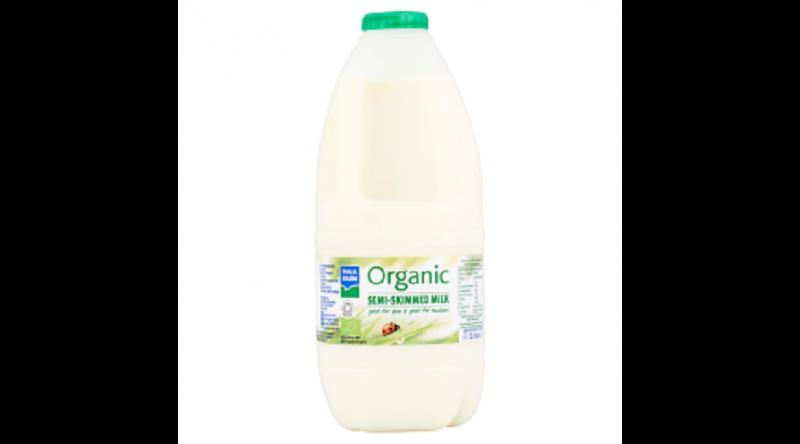 Organic Semi-Skimmed Milk 2l