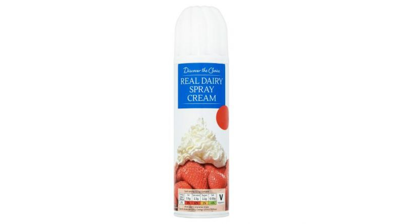 Discover the Choice Real Dairy Spray Cream 250g