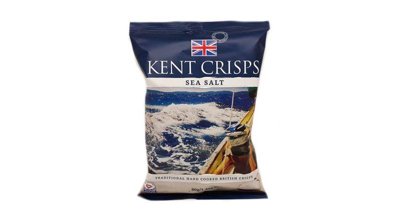 Kent Crisps GF - Sea Salt (Pack of 4 x 40G)