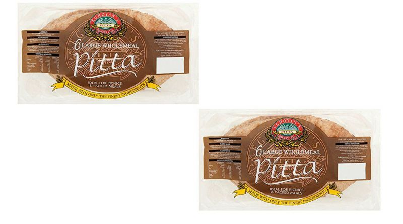 Wholemeal Pitta Bread Multi Pack Of 2