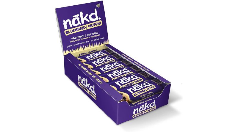 Nakd GF Bars - Blueberry Muffin Case (18 Per Case)