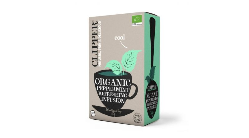 Clipper Organic Peppermint Tea -  20 bags