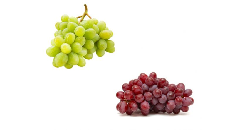 Fresh Recyclable PTK Red/Green Seedless GRAPES Fruit