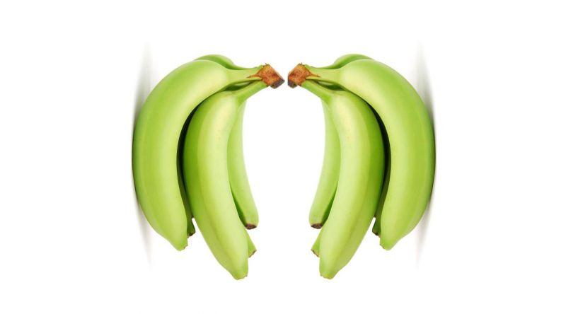 Banana Greenish - 2 Bunches (5 per bunch)