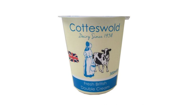 Fresh Cotteswold Double Cream 300ml