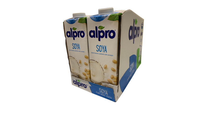 Alpro Soya Milk Case - 8 x 1L Per Case
