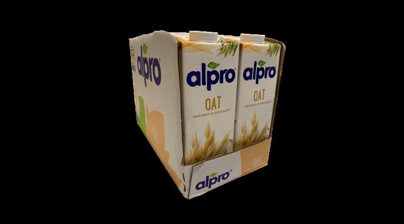 Alpro Oat  Milk Case 8 x 1L Per Case