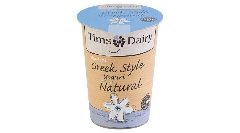 Tims Dairy Greek style natural yogurt 500g
