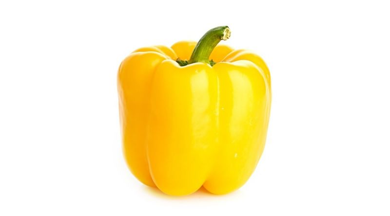 Fresh Yellow Pepper salads