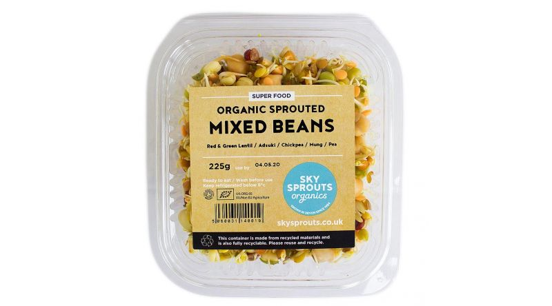 Organic Sprouted Mixed Beans Box - 4 225g Per Box