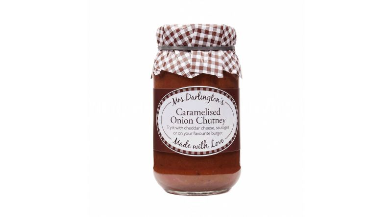 Mrs Darlington's Caramelised Onion Chutney 312g