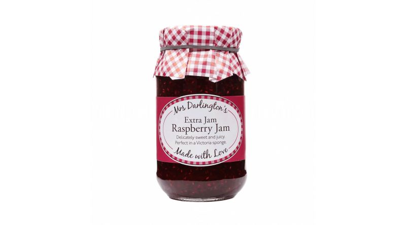 Mrs Darlington's Raspberry Extra Jam 340g