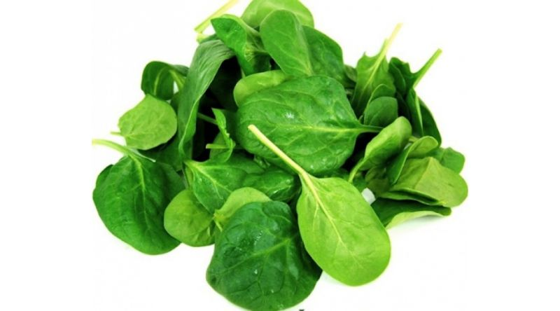 Fresh Baby Spinach Salads
