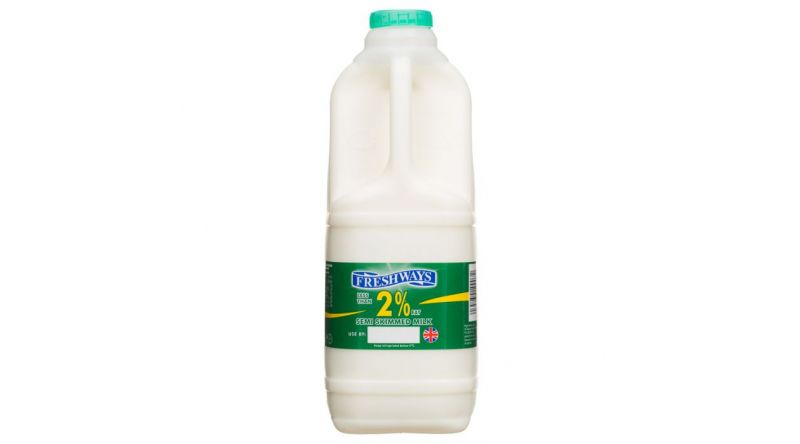 Semi-Skimmed Milk 2l