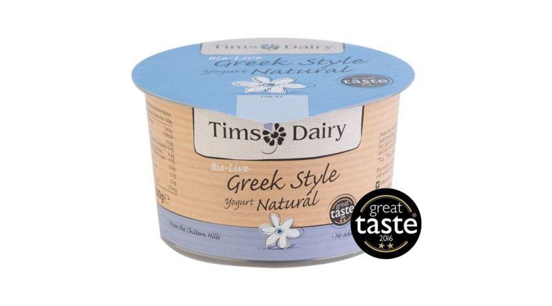 Tims Dairy Greek style natural yogurt 200g