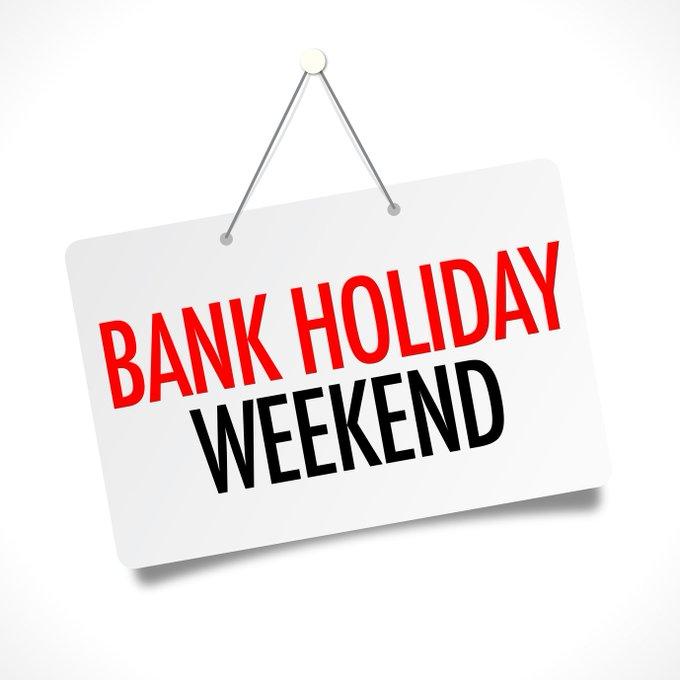 Early May Bank Holiday 2021 Closures