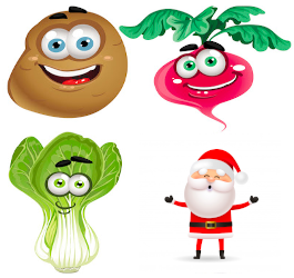 Best Fruits and Vegetables for Christmas